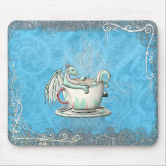 Tea Cup Dragons: Peppermint Mouse Pad