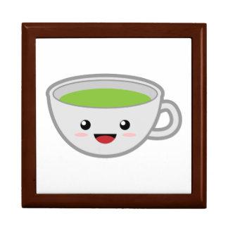 Tea Cup Keepsake Box