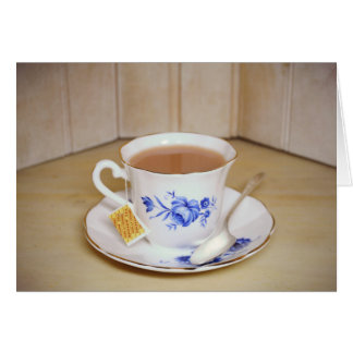 Tea Cup Note Card