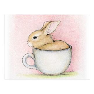 Tea Cup Postcard