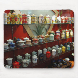 Tea cups and mugs from tea store in China Mouse Pad