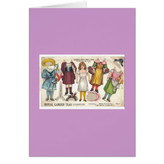 Tea Dolls Card