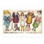 Tea Dolls Postcard