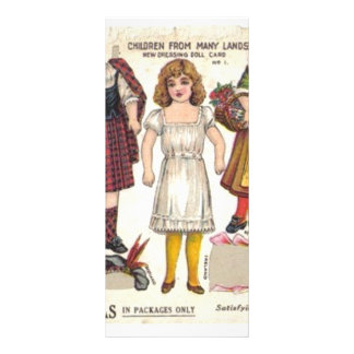Tea Dolls Rack Card