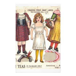 Tea Dolls Stationery