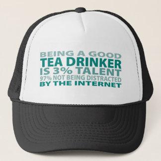 Tea Drinker 3% Talent Trucker Hat