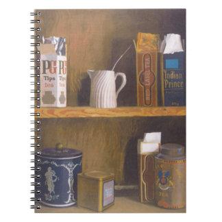 Tea for all taste 1984 spiral notebook