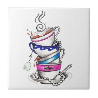 Tea For Four Design Tile