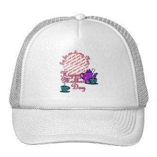 Tea For Me My Mom - Happy Mother s Day Hat