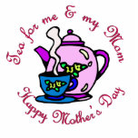 Tea For Me & My Mom - Happy Mother's Day Photo Sculpture