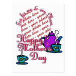 Tea For Me & My Mom - Happy Mother's Day Postcard