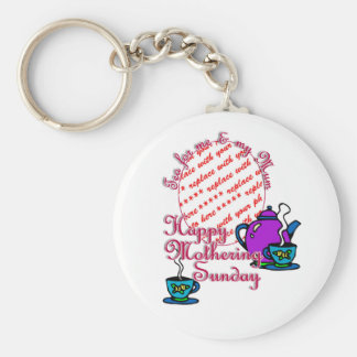 Tea For Me My Mum - Happy Mothering Sunday Key Chains