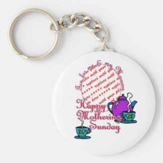 Tea For Me My Mummy - Happy Mothering Sunday Key Chains