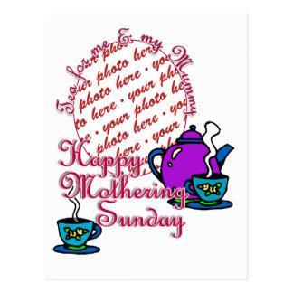 Tea For Me & My Mummy - Happy Mothering Sunday Postcard