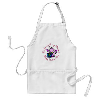 Tea For Me & My Mummy on Mother's Day Adult Apron