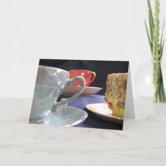 Tea for Three card