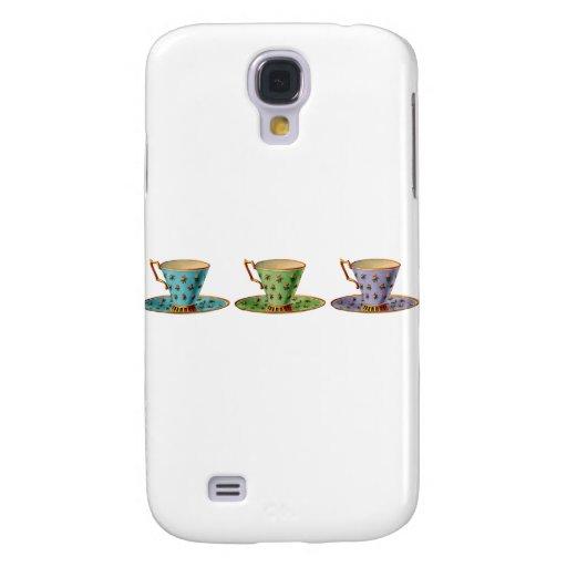 Tea for Three Galaxy S4 Cases