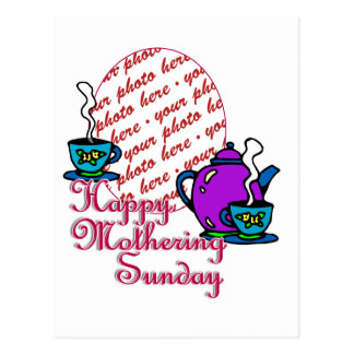 Tea For Two - Happy Mothering Sunday Photo Frame Postcard