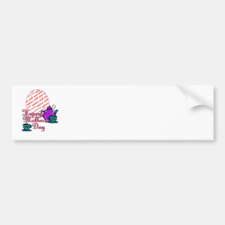 Tea For Two - Happy Mother's Day - Photo Frame Car Bumper Sticker