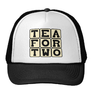 Tea For Two, Intimate Drink Trucker Hat