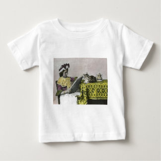 Tea for Two Party Vintage Victorian KItty Cat Girl Tshirts