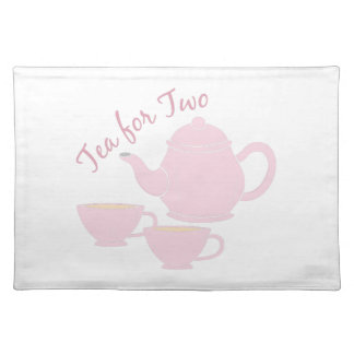 Tea For Two Placemat