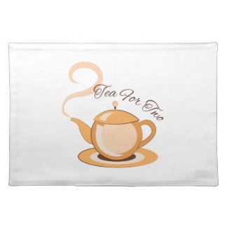 Tea For Two Cloth Place Mat