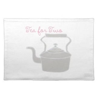 Tea For Two Cloth Placemat