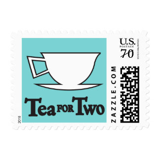 Tea for Two Stamp