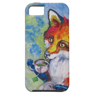 Tea Fox iPhone 5 Cover