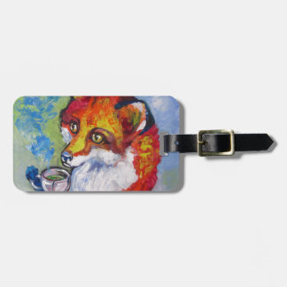Tea Fox Luggage Tag