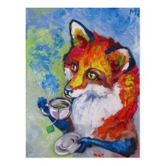 Tea Fox Postcards