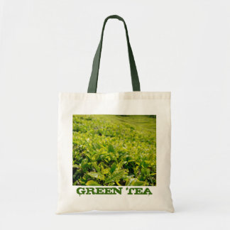 Tea gardens tote bag