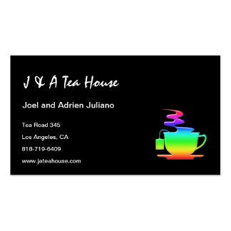 Tea House Business Cards