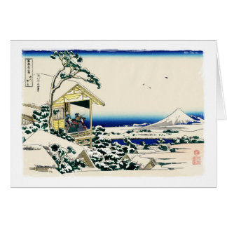 Tea House in Koishikawa Card
