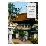 """""""Tea House"""" Japanese Gardens Cards"""