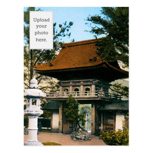 """""""Tea House"""" Japanese Gardens Post Cards"""