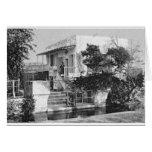 Tea House, Ridvan Garden- ca. 1900 Card