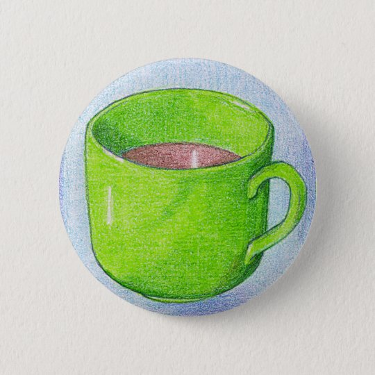 Tea in Green Button