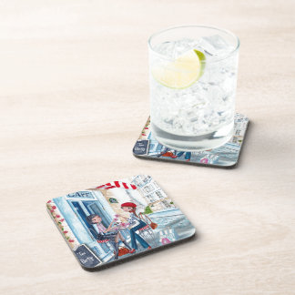 Tea in Paris Beverage Coaster