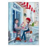 Tea in Paris - greeting cards