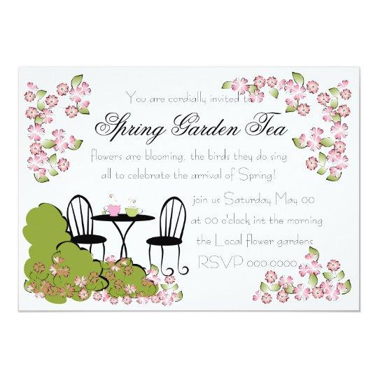 Tea in the Garden Card