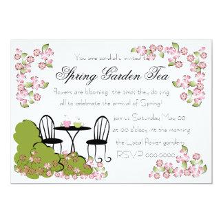 Tea in the Garden Personalized Invites