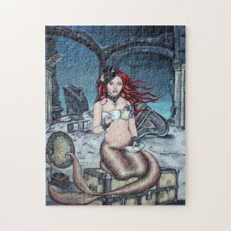 Tea in the Parlour steampunk mermaid puzzle