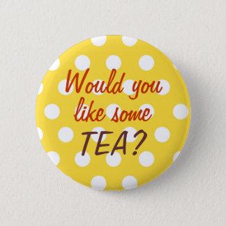 Tea invitation button