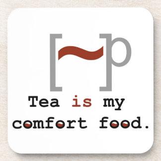Tea is my Comfort Food Drink Coaster