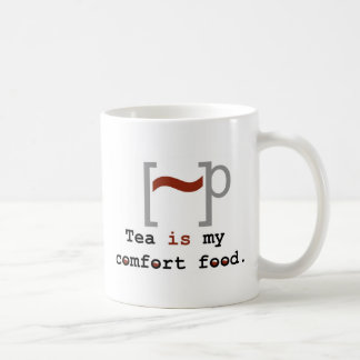 Tea is my Comfort Food Classic White Coffee Mug