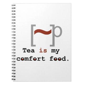 Tea is my Comfort Food Journals