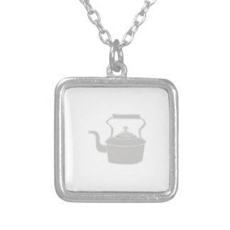 Tea Kettle Custom Necklace