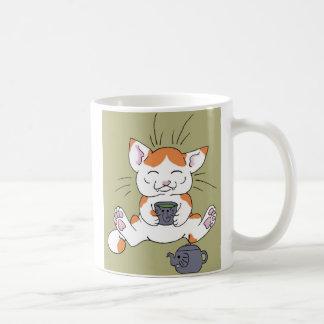 Tea Kitty Coffee Mugs